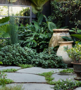 Garden Design Ideas For Small Spaces Leaf Stone Water
